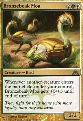 Dragon's Maze Foil: Bronzebeak Moa