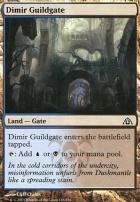 Dragon's Maze Foil: Dimir Guildgate
