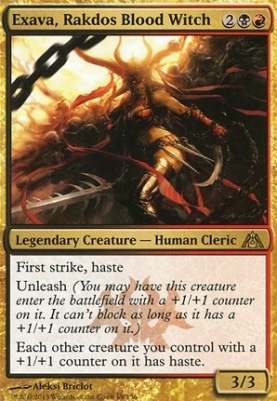Dragon's Maze: Exava, Rakdos Blood Witch