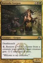 Dragon's Maze Foil: Korozda Gorgon