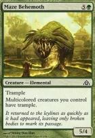 Dragon's Maze: Maze Behemoth