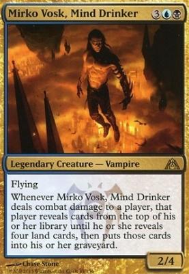Dragon's Maze: Mirko Vosk, Mind Drinker