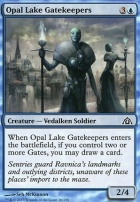 Dragon's Maze Foil: Opal Lake Gatekeepers