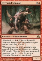 Dragon's Maze Foil: Pyrewild Shaman