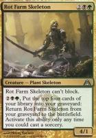 Dragon's Maze Foil: Rot Farm Skeleton