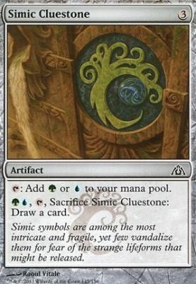 Dragon's Maze: Simic Cluestone