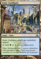Dragon's Maze Foil: Simic Guildgate