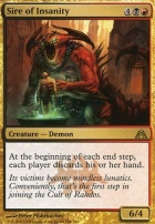 Dragon's Maze Foil: Sire of Insanity