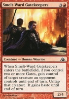 Dragon's Maze Foil: Smelt-Ward Gatekeepers