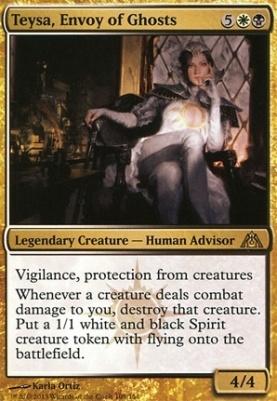 Dragon's Maze Foil: Teysa, Envoy of Ghosts
