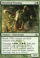 Dragon's Maze Foil: Thrashing Mossdog