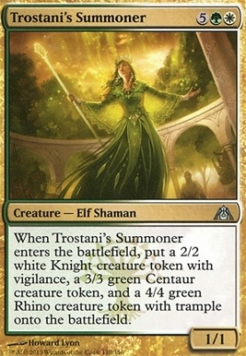 Dragon's Maze: Trostani's Summoner
