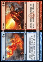 Dragon's Maze Foil: Turn // Burn