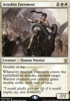 Dragons of Tarkir Foil: Arashin Foremost