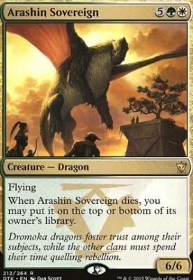 Dragons of Tarkir Foil: Arashin Sovereign