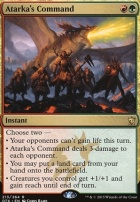 Dragons of Tarkir Foil: Atarka's Command
