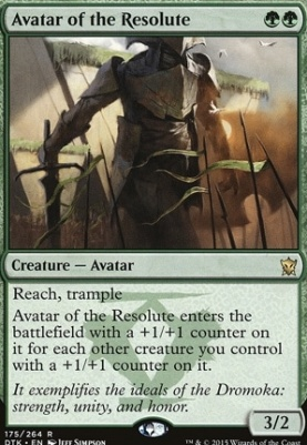 Dragons of Tarkir: Avatar of the Resolute