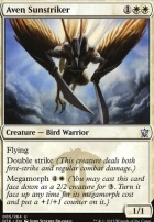 Dragons of Tarkir Foil: Aven Sunstriker