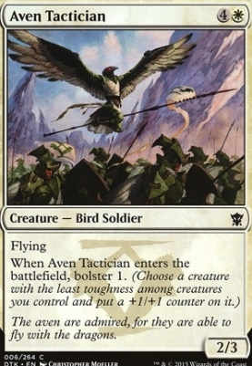 Dragons of Tarkir Foil: Aven Tactician