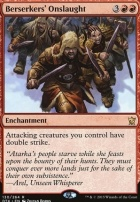 Dragons of Tarkir Foil: Berserkers' Onslaught