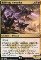 Dragons of Tarkir Foil: Boltwing Marauder