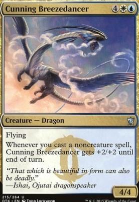 Dragons of Tarkir Foil: Cunning Breezedancer