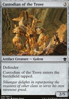 Dragons of Tarkir Foil: Custodian of the Trove
