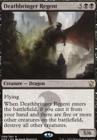 Dragons of Tarkir Foil: Deathbringer Regent