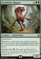 Dragons of Tarkir Foil: Deathmist Raptor