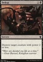 Dragons of Tarkir Foil: Defeat