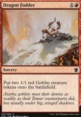 Dragons of Tarkir: Dragon Fodder