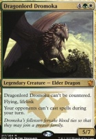 Dragons of Tarkir Foil: Dragonlord Dromoka