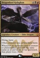 Dragons of Tarkir: Dragonlord Kolaghan