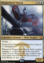 Dragons of Tarkir Foil: Dragonlord Ojutai