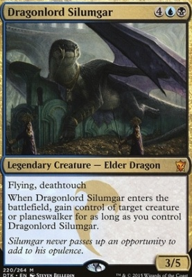 Dragons of Tarkir: Dragonlord Silumgar