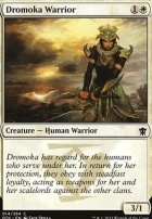 Dragons of Tarkir: Dromoka Warrior