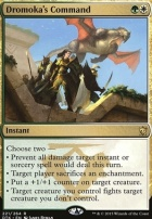 Dragons of Tarkir Foil: Dromoka's Command