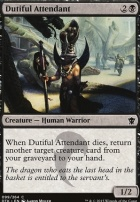 Dragons of Tarkir: Dutiful Attendant