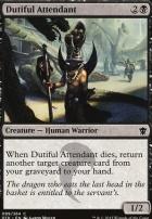 Dragons of Tarkir Foil: Dutiful Attendant