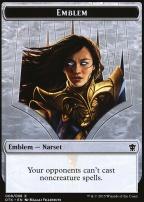 Dragons of Tarkir: Emblem (Narset Transcendent)