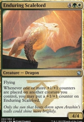 Dragons of Tarkir Foil: Enduring Scalelord