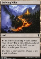 Dragons of Tarkir Foil: Evolving Wilds