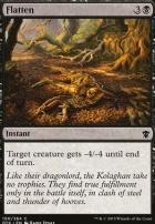 Dragons of Tarkir Foil: Flatten