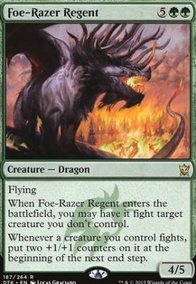 Dragons of Tarkir: Foe-Razer Regent