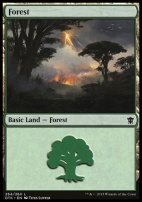 Dragons of Tarkir: Forest (264 C)