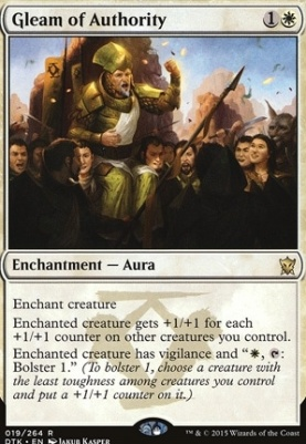Dragons of Tarkir Foil: Gleam of Authority