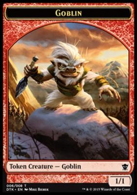 Dragons of Tarkir: Goblin Token
