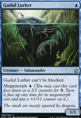 Dragons of Tarkir: Gudul Lurker