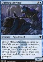 Dragons of Tarkir Foil: Gurmag Drowner