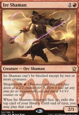Dragons of Tarkir Foil: Ire Shaman